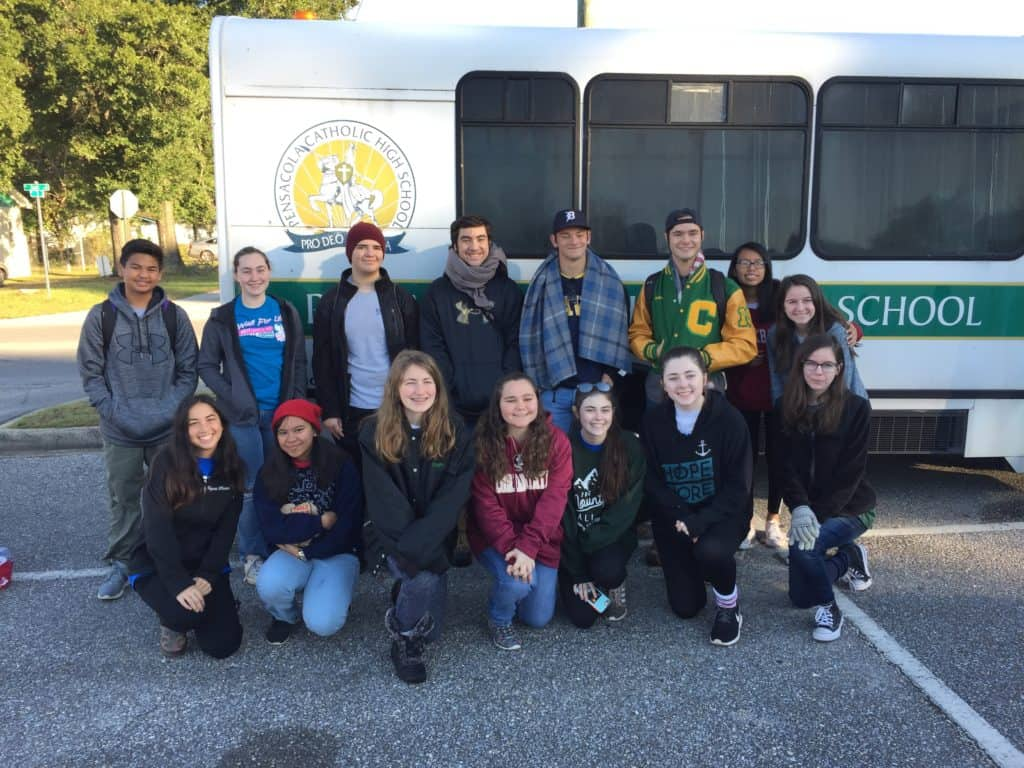 Our youth group returns changed from their recent trip to help those affected by Hurricane Michael 2