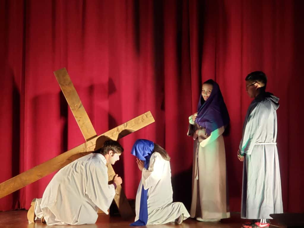 Come see the live action Passion Play presented by our youth group 5