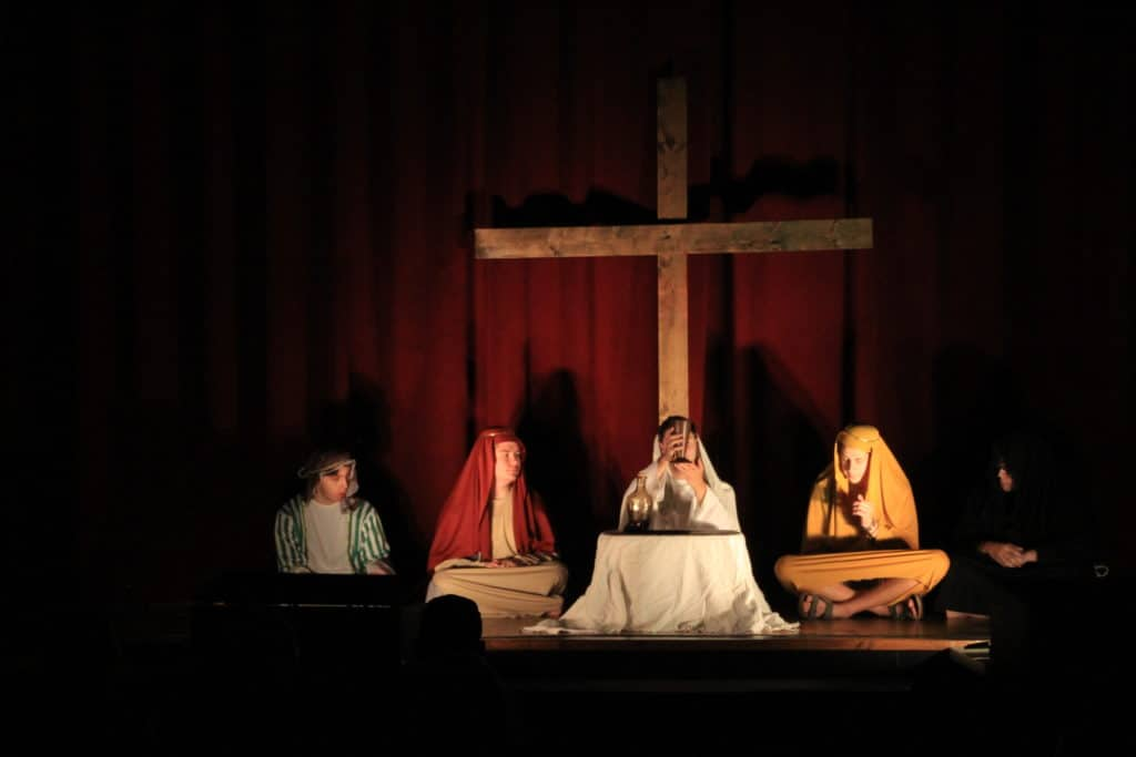 Come see the live action Passion Play presented by our youth group 2